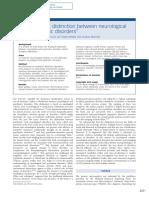 Neuroimaging Distinction Between Neurological and Psychiatric Disorders