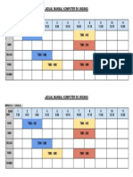 Jadual Makmal Komputer 2019