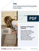 Ohio summary of water test results
