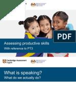 Assessing Productive Skills