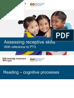 Assessing Receptive Skills