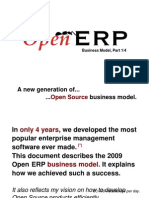 OpenERP Business Model