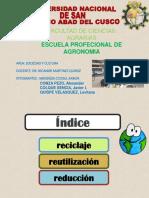 Diapositivas de Reciclaje