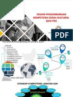 Desain Pengembangan Kompetensi Sosial Kultural Bagi PNS
