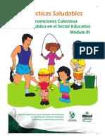 Jaime Restrepo Carmona Prácticas Saludables Intervenciones Colectivas de Salud Pública en el Sector Educativo - Módulo III