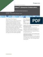The Forrester Wave™_ Enterprise Collaboration, Q4 2016 (1)