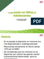 Depresion en niños y adolescentes
