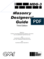 Masonry Design Guide 3