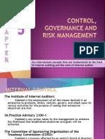 Control, Governance and Risk Management