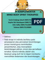Ppt Komplementer Mind and Body Spirit