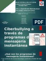 Grupo 7 - Ciberbullying Por Mensajería Instantánea