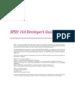SPSS 14 0 for Windows Developer's Guide