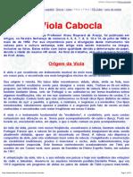 A Historia Da Viola Caipira