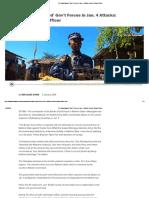 AA 'Backstabbed' Gov't Forces in Jan. 4 Attacks_ Border Guard Officer