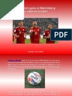Leopoldo Lares Sultán - El Bayern gana al Núremberg  y sube en la tabla
