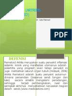Pptatritisreumatoidpadalansia 121224204623 Phpapp02 Converted