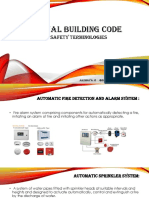 Fire Safety Terminologies