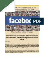 Facebook No Solo Vende Información 15-01-16