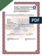 Piagam Pramuka Websiteedukasi.com
