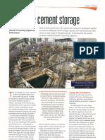 Flexible Cement Storage