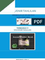 Termurah!!! Souvenir Tahlilan | 0852-2765-5050