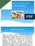 Condición Jurídica de Los Extranjeros en México