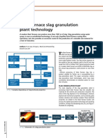 Blast Furnace Slag Granulation Technology