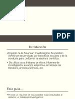 Introducción Al Formato APA, 6ta