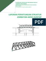 Laporan Jembatan Akses Huntap