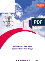 Ldp Micom Relays P441 & P442 for Distance Protection