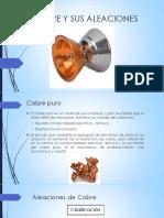 El cobre y sus aleaciones