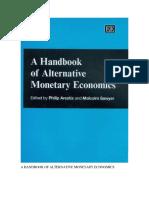 A Handbook of Alternative Monetary Economics Traducido