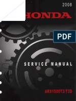 2008 Honda ARX1500T3 T3D Aquatrax Service Repair Manual.pdf