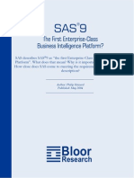 sas 9 the first enterprise-class business intelligence platform