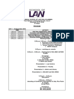 1st Annual School of Law Planning Program
