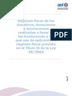 Regimen Fiscal Delos Donati Vos