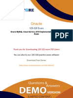 Oracle 1Z0-320 Exam Dumps - Pass With Guarantee