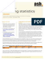 Smoking Statistics ASH Fact Sheet November 2018