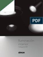 201812 Simon Catálogo General Iluminación Interior Led 2018