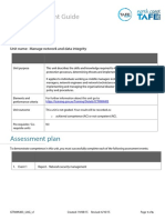 Manage Network and Data Integrity Assessment Guide