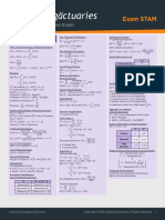 STAM Formula Sheet