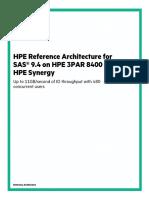 3PAR 8400 Reference Architecture for SAS 9_4