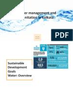 Water Treatment and Sanitation in Kolkata
