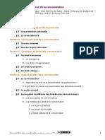 UNJF - Plan détaillé Droit de la consommation(1)
