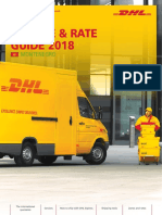 DHL Rates and guide for 2018