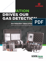 Innovation Drives Our Gas Detection