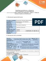 Guía de Actividades y Rúbrica de Evaluación - Paso 5 - Elaborar Informe Gestión de Distribución