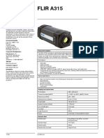 FLIR A315 Datasheet