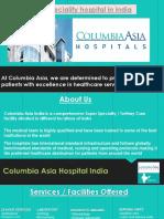 Multispeciality Hospital in India- Columbi Asia India