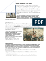 A Thematic Approach to World History